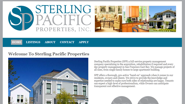 Sterling Pacific Properties Slide Image